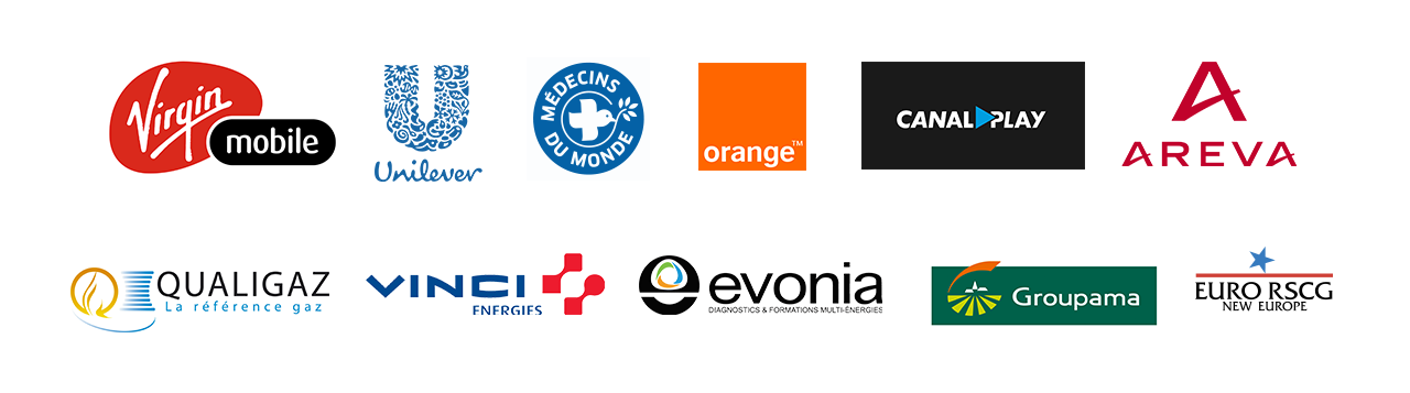 Clients grands comptes Webdesigner freelance, 10 années d'expertise