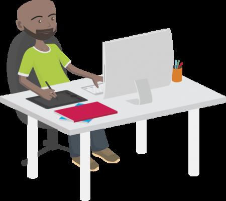 Webdesigner freelance, 10 années d'expertise - Spécialiste en conception graphique