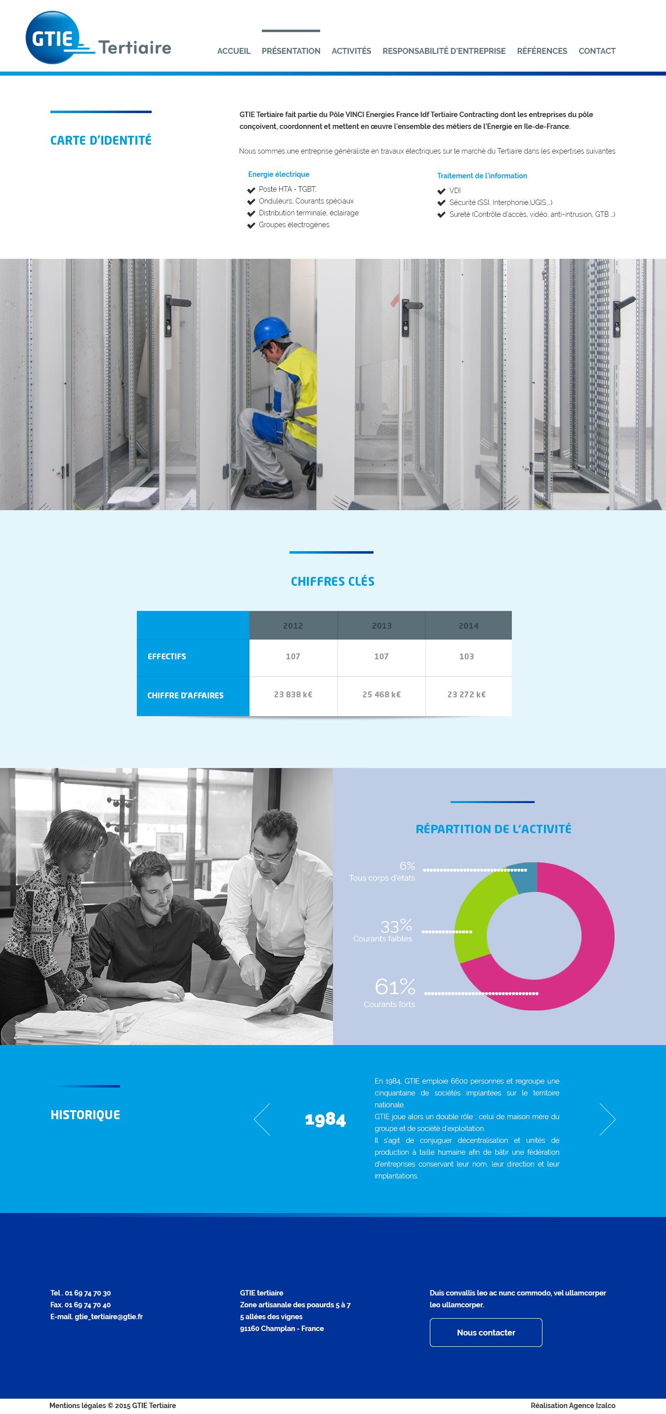Conception graphique - GTIE - Webdesigner freelance, 10 années d'expertise