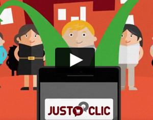 Justoclic - Agence motion design - réaliation du film