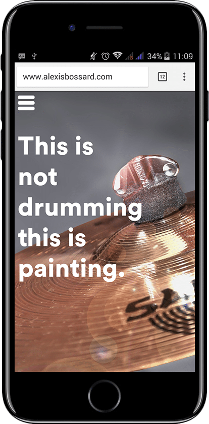 Alexis Bossard - This is not drumming
